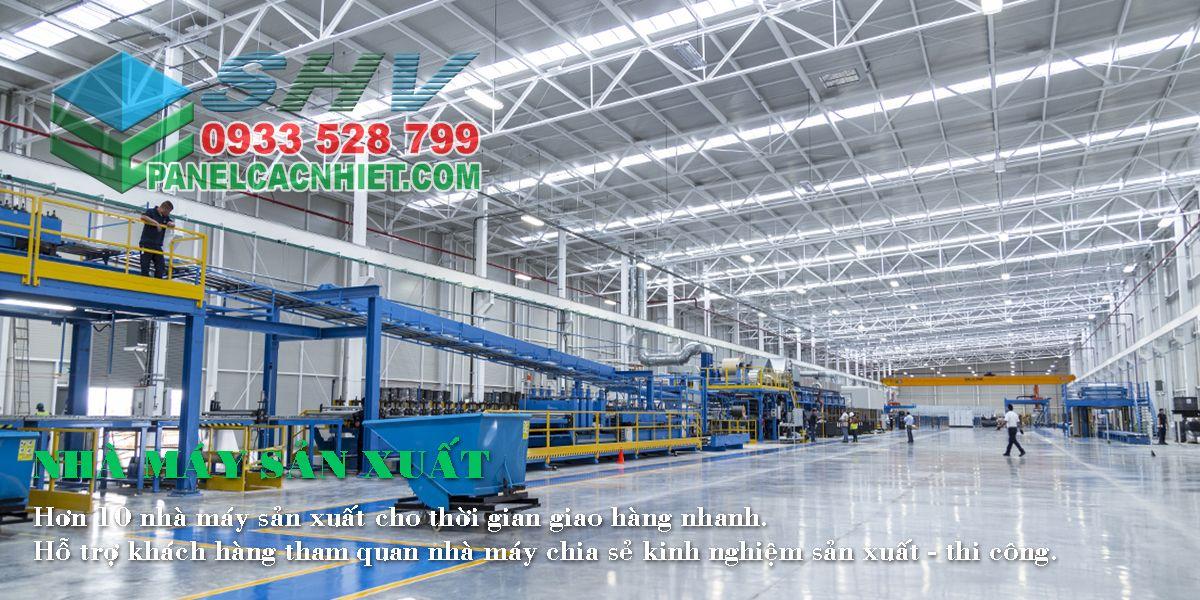 nhà máy Panel Cách Nhiệt SHV