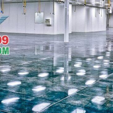 phòng sạch sơn sàn epoxy