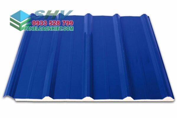 tôn mái 5 sóng màu xanh dương