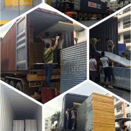 đóng gói vận chuyển panel