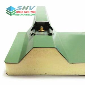 giải pháp lockvit cho mái tôn 3 lớp lõi xốp