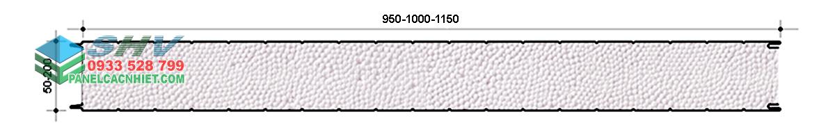 mặt cắt panel eps