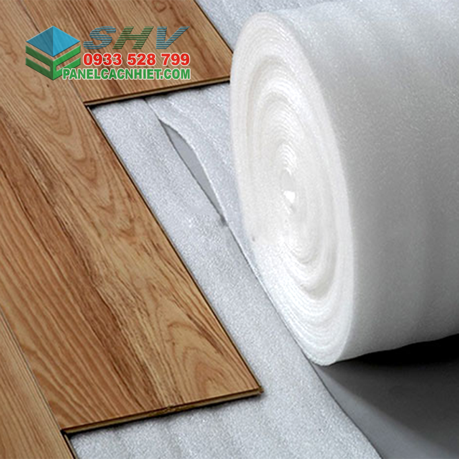 mút xốp pe foam lót sàn gỗ