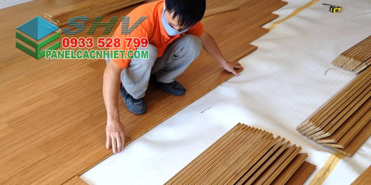 mút xốp lót sàn gỗ cách âm cách nhiệt